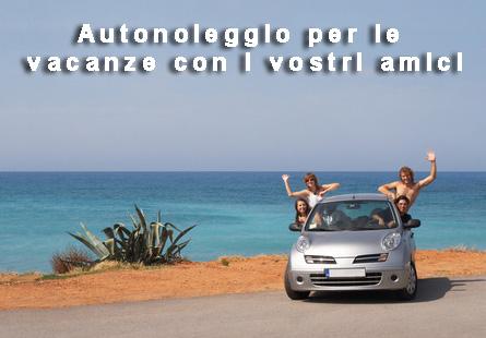 Autonoleggio per le vacanze con i vostri amici